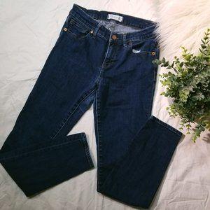 madewell skinny skinny - dark indigo wash
